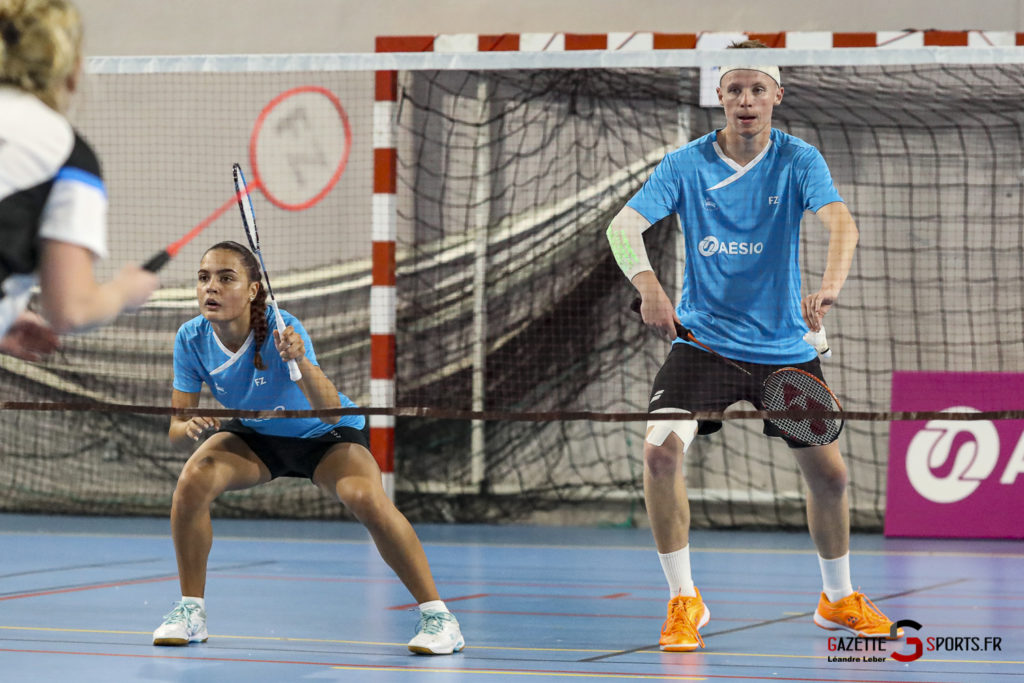 Badminton Auc Amiens Vs Boulogne 0080 Leandre Leber Gazettesports