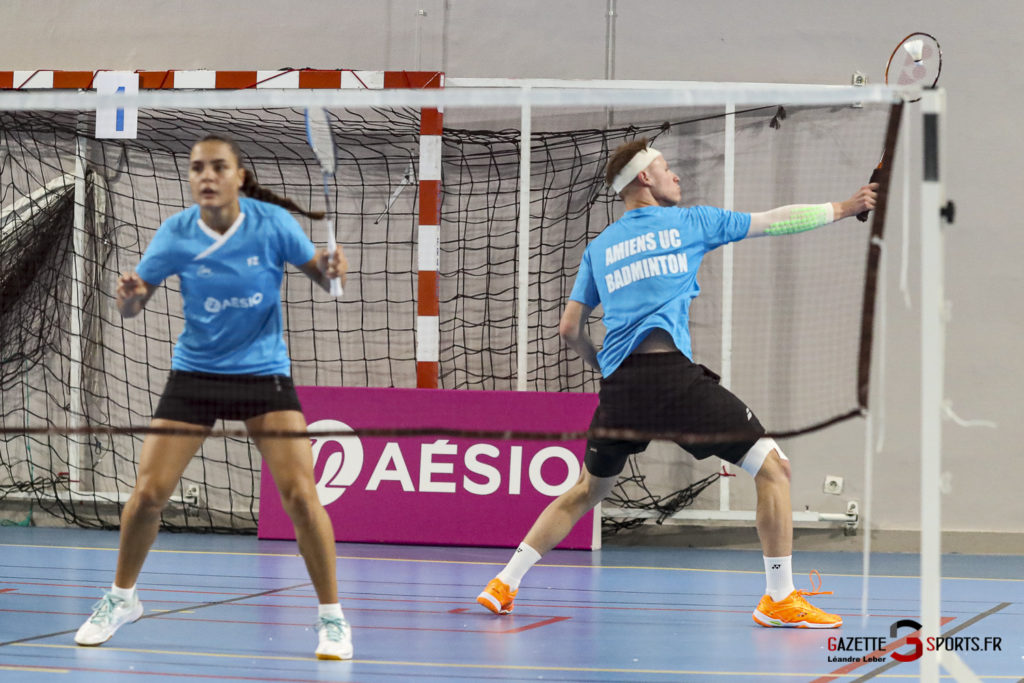 Badminton Auc Amiens Vs Boulogne 0094 Leandre Leber Gazettesports