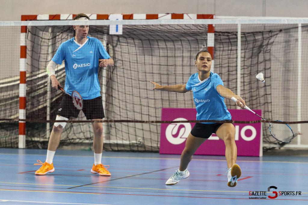 Badminton Auc Amiens Vs Boulogne 0114 Leandre Leber Gazettesports