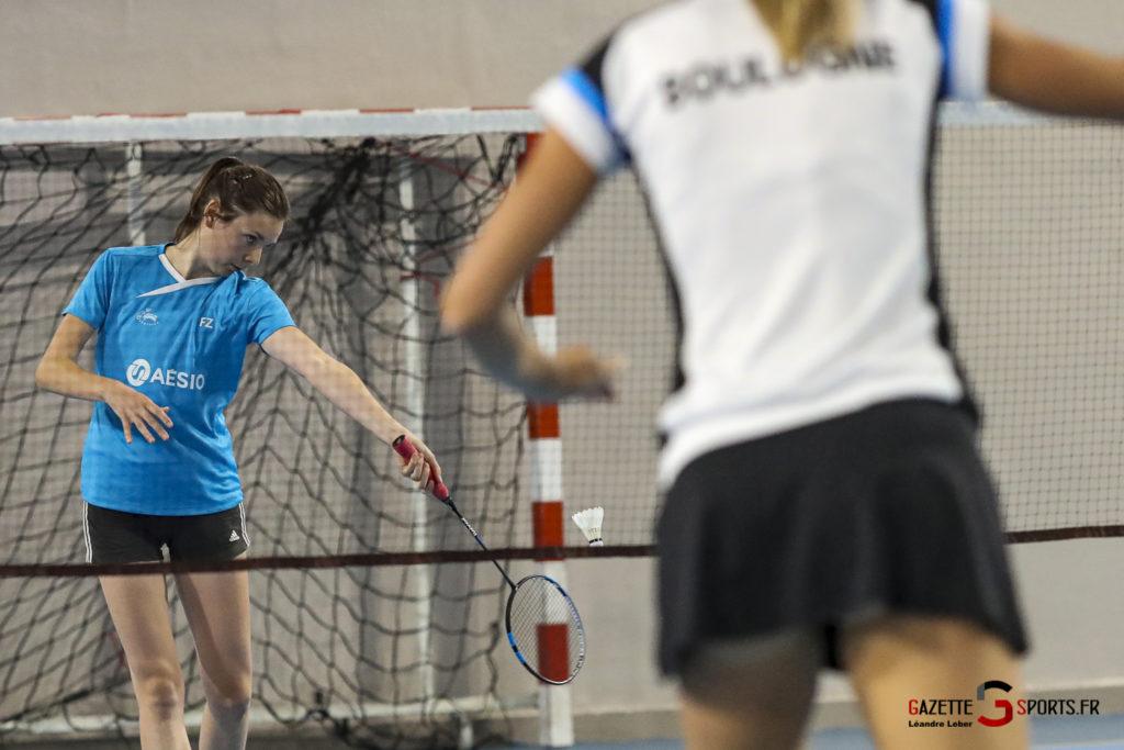 Badminton Auc Amiens Vs Boulogne 0129 Leandre Leber Gazettesports