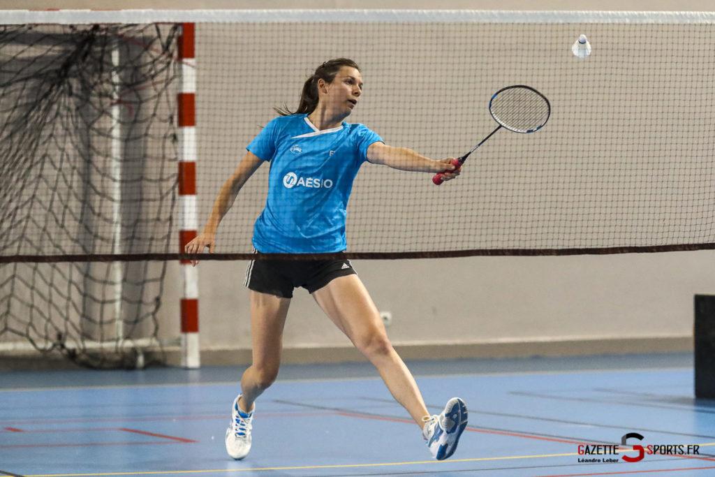 Badminton Auc Amiens Vs Boulogne 0161 Leandre Leber Gazettesports