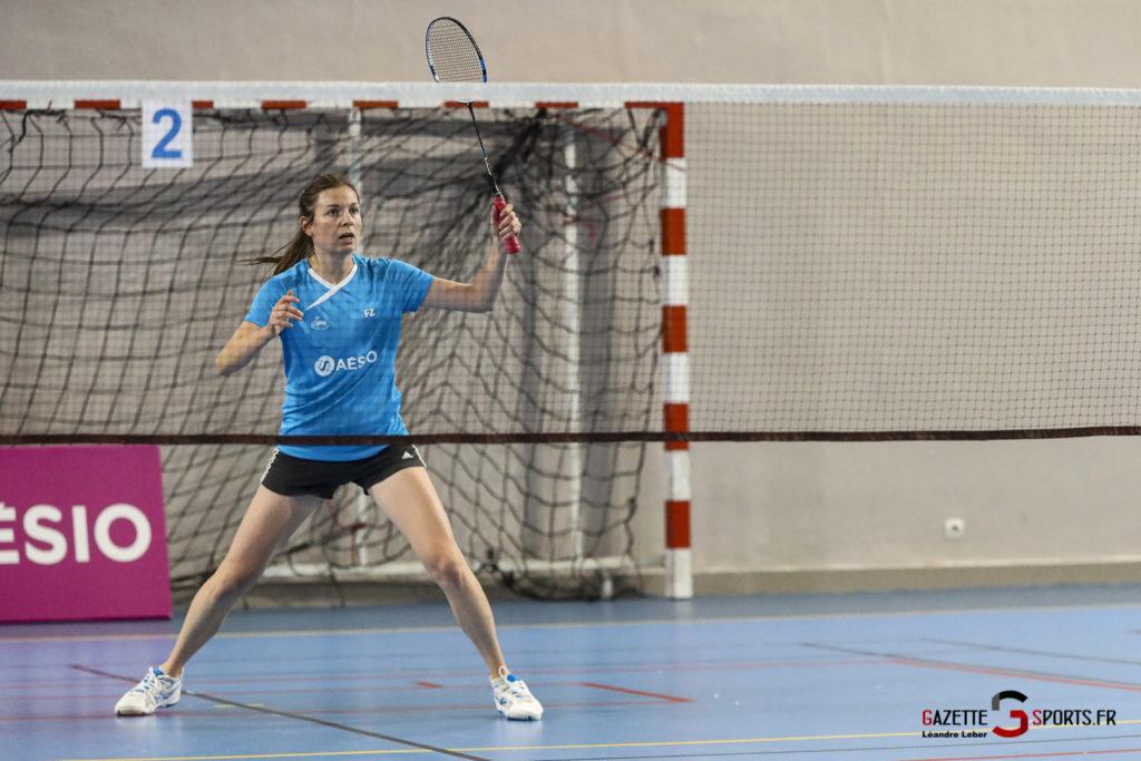 Badminton Auc Amiens Vs Boulogne 0229 Leandre Leber Gazettesports