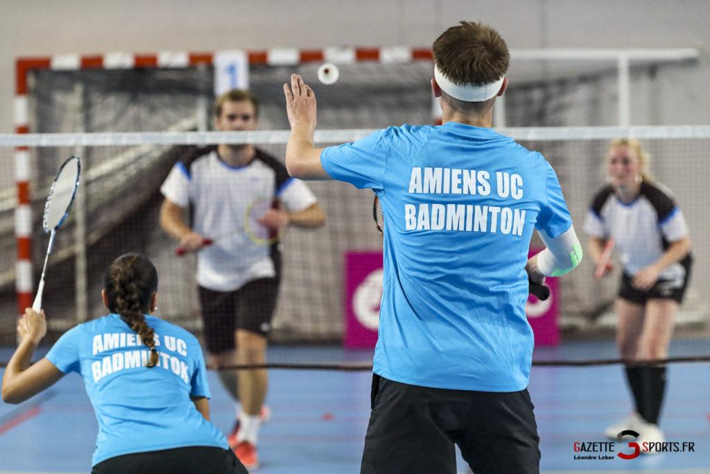 Badminton Auc Amiens Vs Boulogne 0320 Leandre Leber Gazettesports