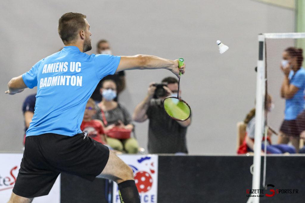 Badminton Auc Amiens Vs Boulogne 0345 Leandre Leber Gazettesports