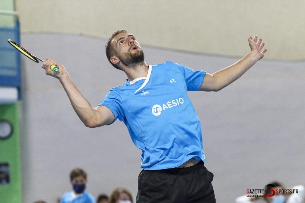 Badminton Auc Amiens Vs Boulogne 0349 Leandre Leber Gazettesports
