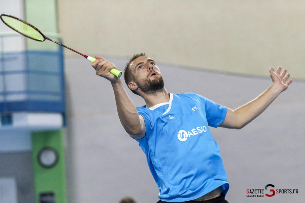 Badminton Auc Amiens Vs Boulogne 0350 Leandre Leber Gazettesports