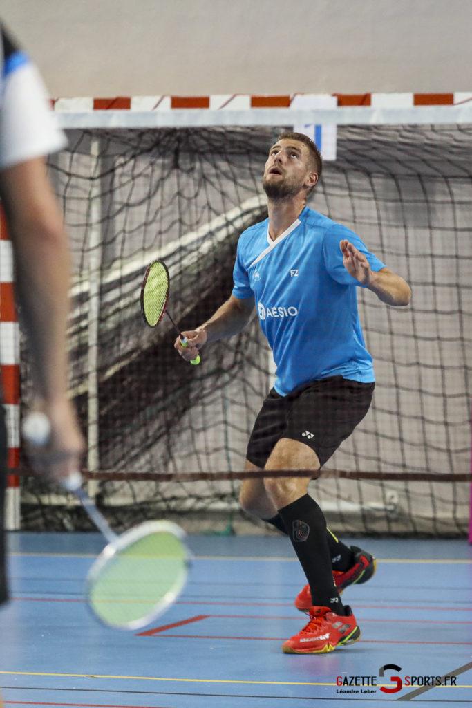 Badminton Auc Amiens Vs Boulogne 0419 Leandre Leber Gazettesports
