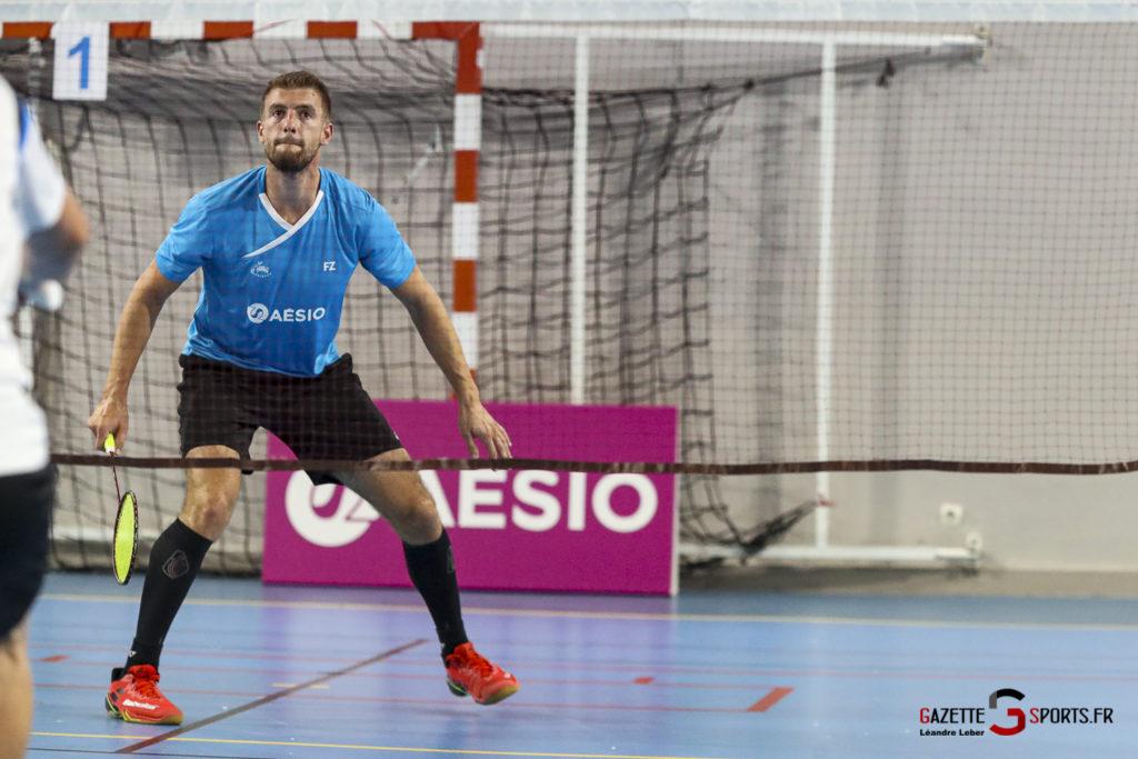 Badminton Auc Amiens Vs Boulogne 0426 Leandre Leber Gazettesports