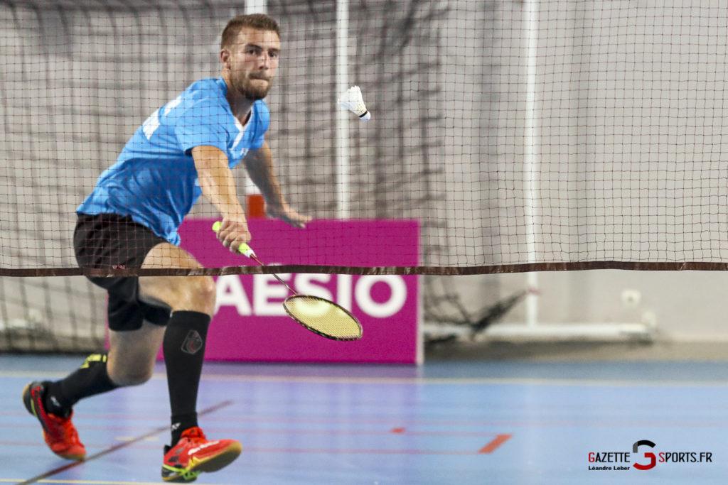 Badminton Auc Amiens Vs Boulogne 0441 Leandre Leber Gazettesports
