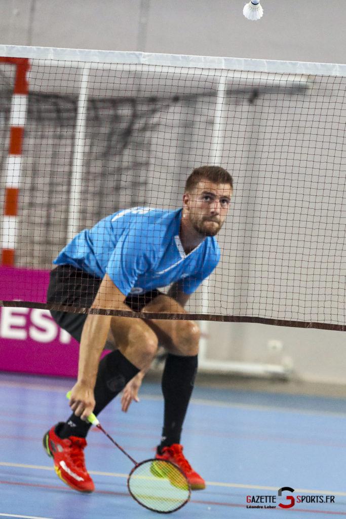 Badminton Auc Amiens Vs Boulogne 0445 Leandre Leber Gazettesports