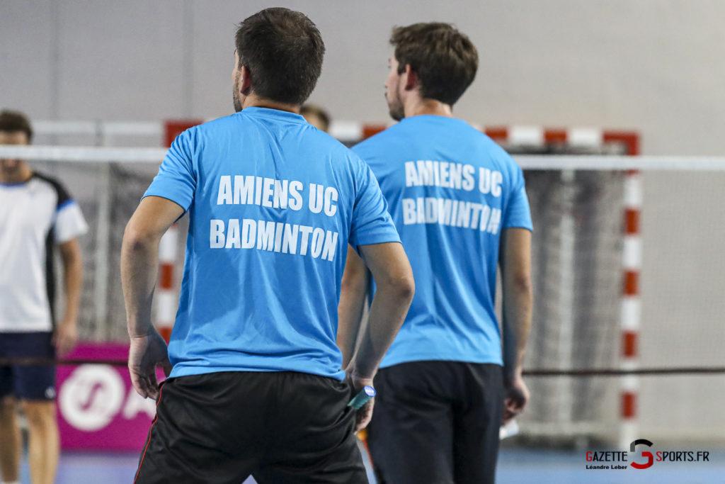 Badminton Auc Amiens Vs Boulogne 0464 Leandre Leber Gazettesports