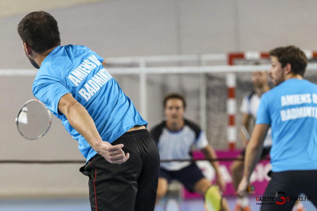 Badminton Auc Amiens Vs Boulogne 0467 Leandre Leber Gazettesports