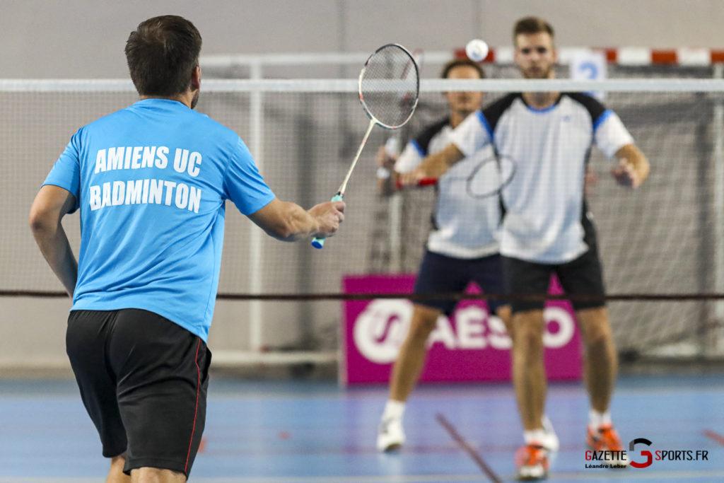 Badminton Auc Amiens Vs Boulogne 0473 Leandre Leber Gazettesports