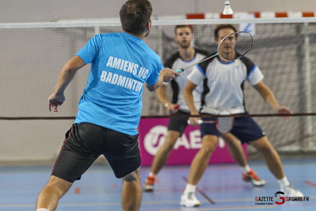 Badminton Auc Amiens Vs Boulogne 0479 Leandre Leber Gazettesports