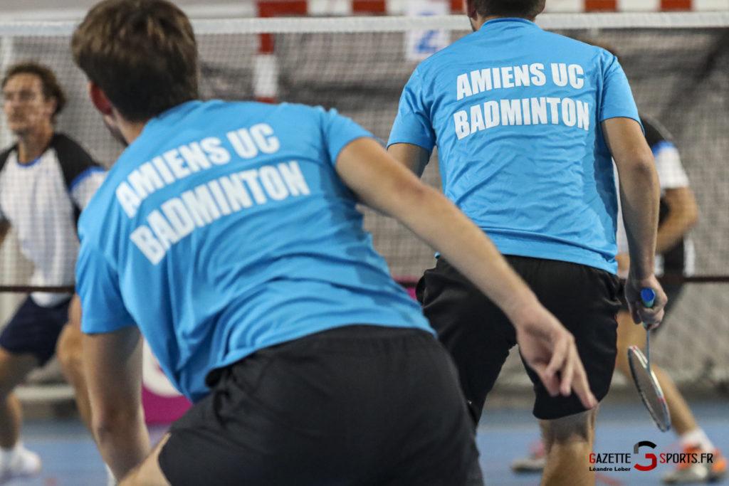 Badminton Auc Amiens Vs Boulogne 0483 Leandre Leber Gazettesports