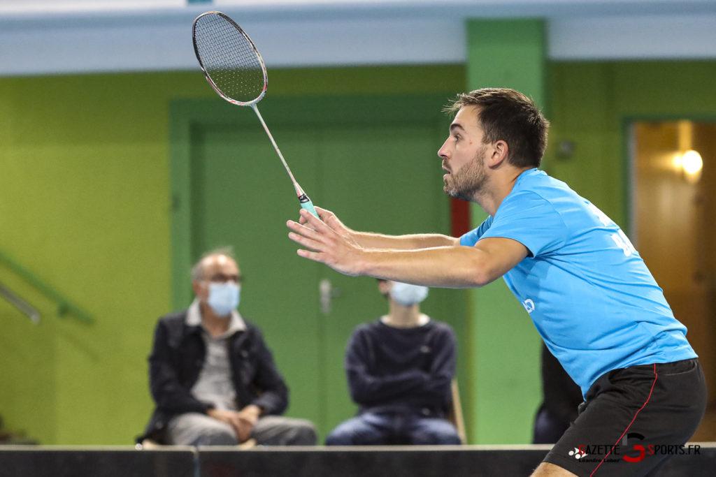 Badminton Auc Amiens Vs Boulogne 0504 Leandre Leber Gazettesports