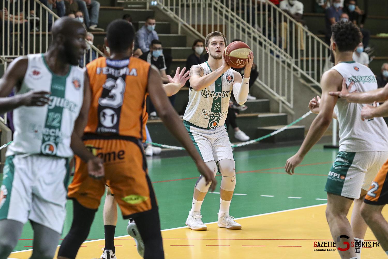 Esclam Basket Ball Longueau Amical 0025 Leandre Leber Gazettesports