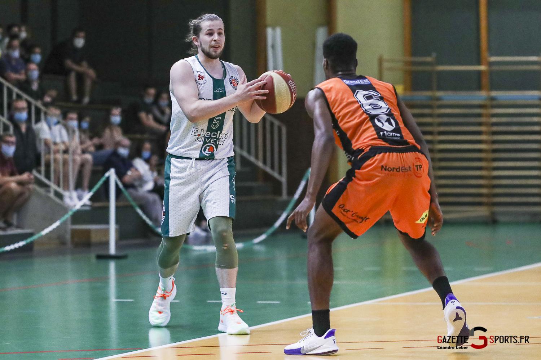 Esclam Basket Ball Longueau Amical 0046 Leandre Leber Gazettesports