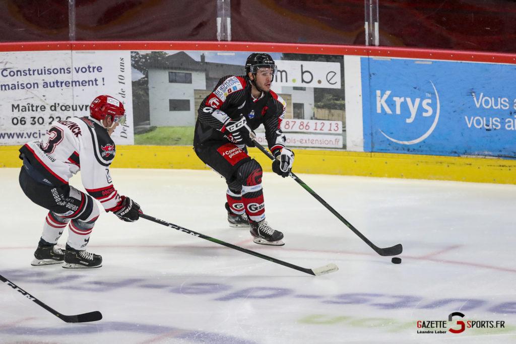 Hockey Sur Glace Les Gothiques Vs Neuilly Amical 0009 Leandre Leber Gazettesports