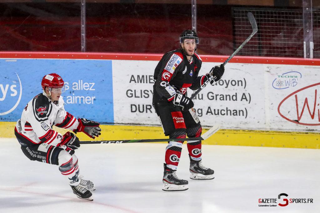 Hockey Sur Glace Les Gothiques Vs Neuilly Amical 0010 Leandre Leber Gazettesports