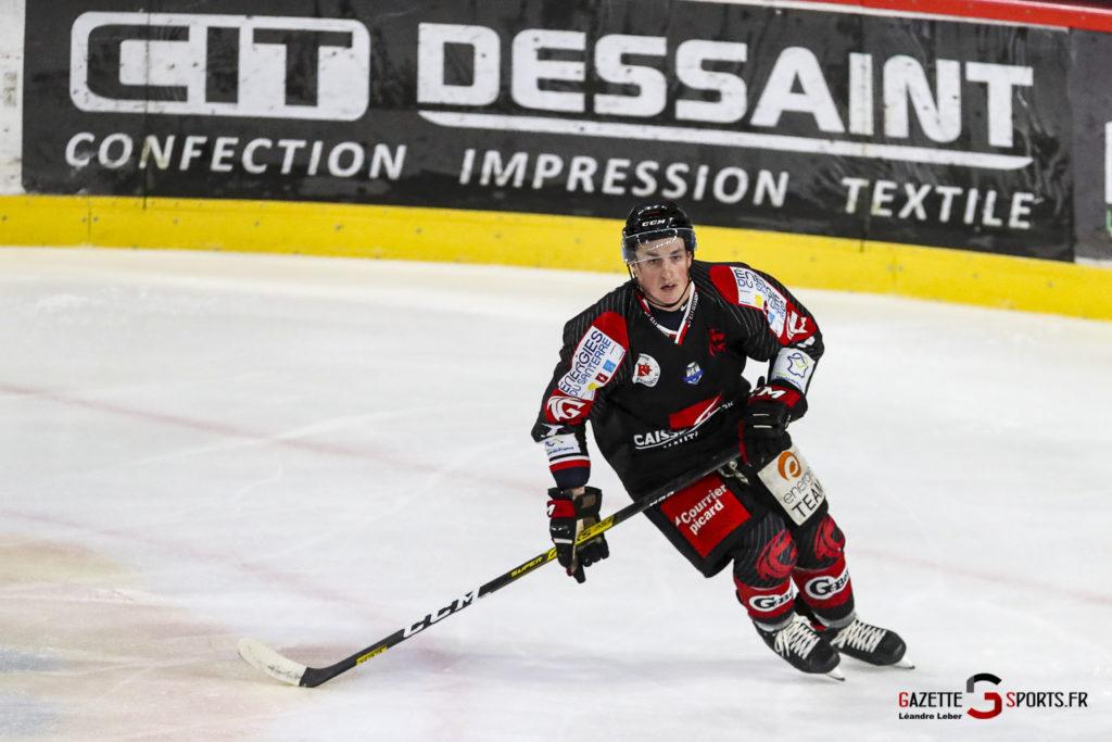 Hockey Sur Glace Les Gothiques Vs Neuilly Amical 0028 Leandre Leber Gazettesports