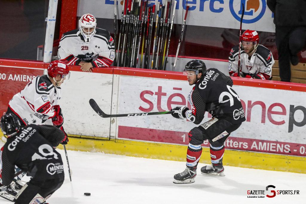 Hockey Sur Glace Les Gothiques Vs Neuilly Amical 0029 Leandre Leber Gazettesports