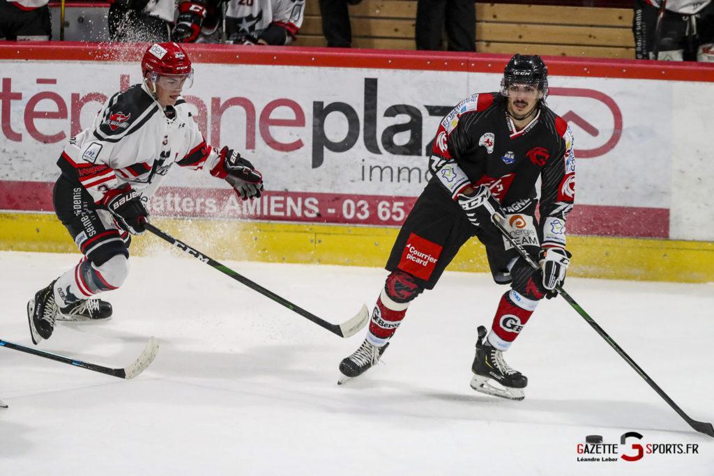 Hockey Sur Glace Les Gothiques Vs Neuilly Amical 0036 Leandre Leber Gazettesports