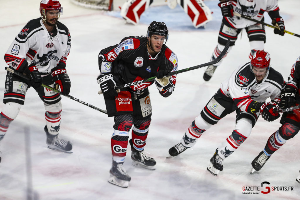 Hockey Sur Glace Les Gothiques Vs Neuilly Amical 0037 Leandre Leber Gazettesports