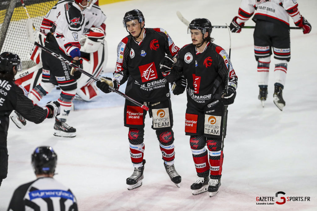 Hockey Sur Glace Les Gothiques Vs Neuilly Amical 0042 Leandre Leber Gazettesports