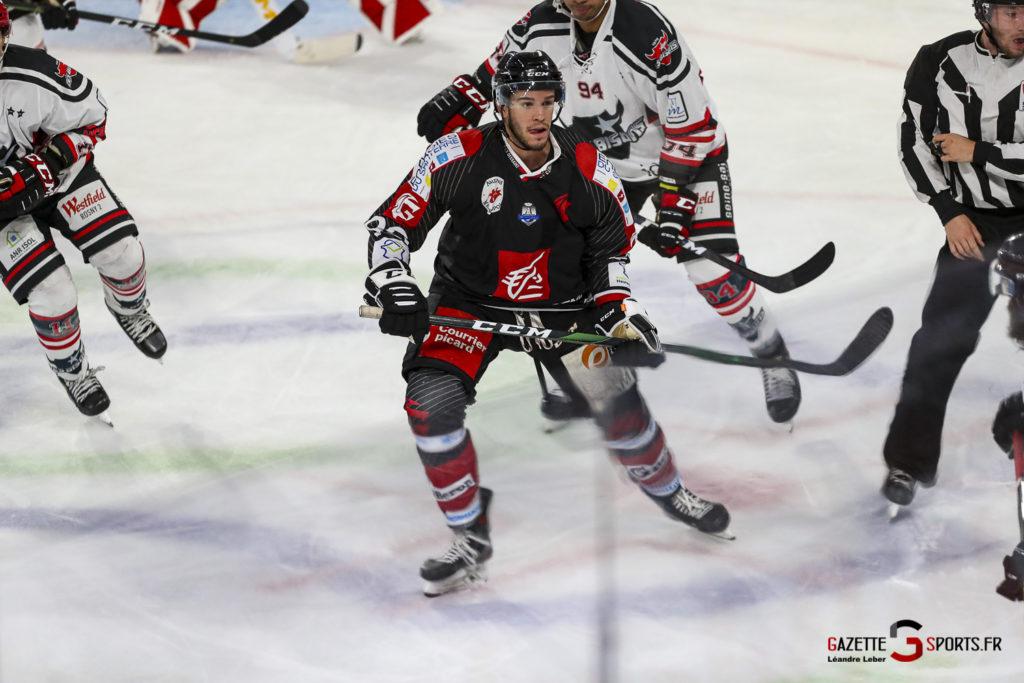 Hockey Sur Glace Les Gothiques Vs Neuilly Amical 0048 Leandre Leber Gazettesports