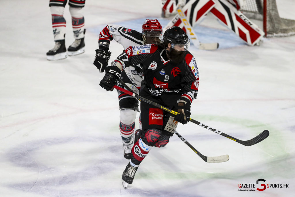 Hockey Sur Glace Les Gothiques Vs Neuilly Amical 0052 Leandre Leber Gazettesports