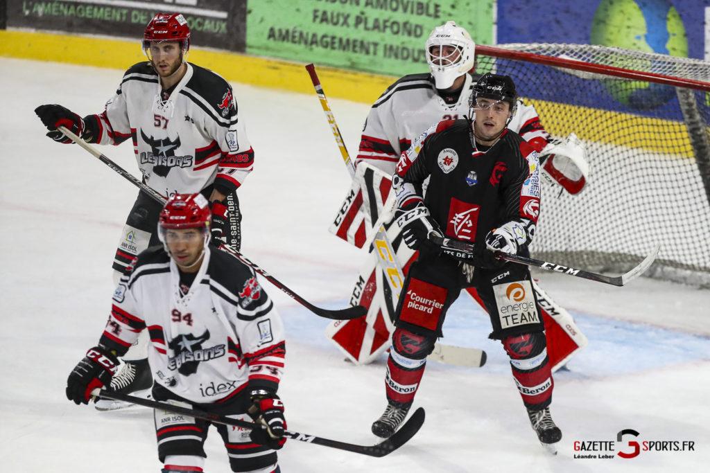 Hockey Sur Glace Les Gothiques Vs Neuilly Amical 0053 Leandre Leber Gazettesports