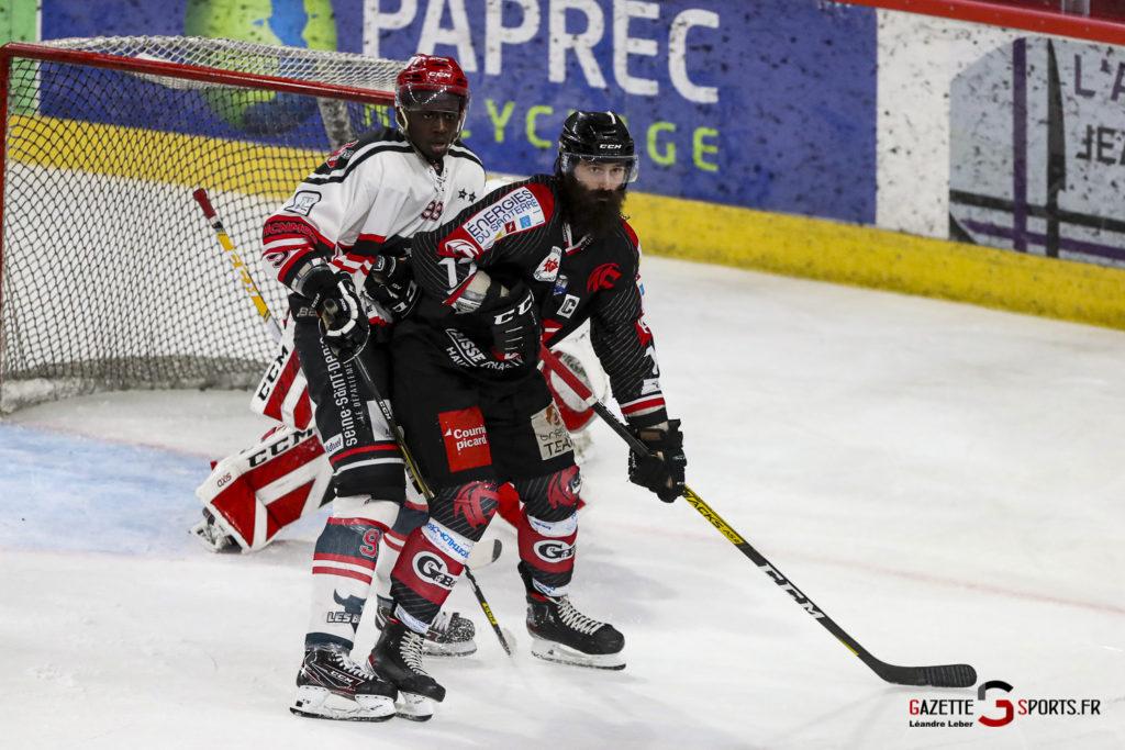 Hockey Sur Glace Les Gothiques Vs Neuilly Amical 0054 Leandre Leber Gazettesports