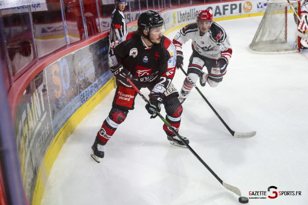 Hockey Sur Glace Les Gothiques Vs Neuilly Amical 0063 Leandre Leber Gazettesports