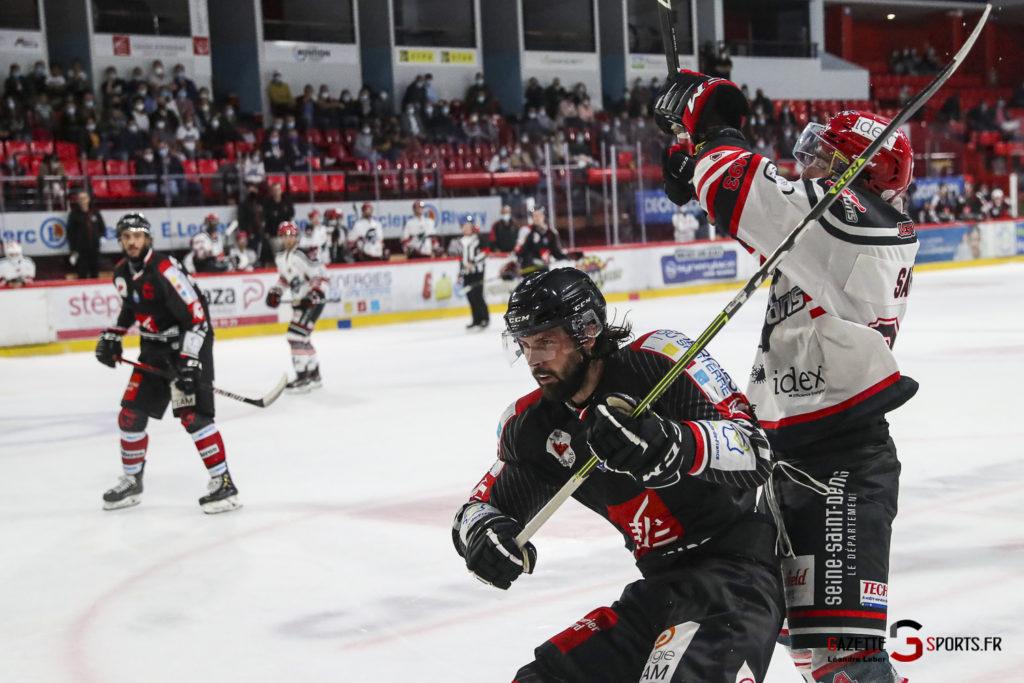 Hockey Sur Glace Les Gothiques Vs Neuilly Amical 0064 Leandre Leber Gazettesports