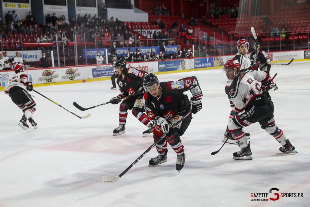 Hockey Sur Glace Les Gothiques Vs Neuilly Amical 0065 Leandre Leber Gazettesports