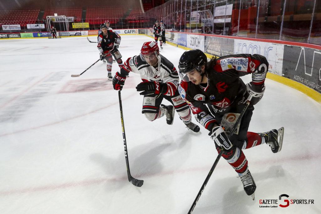 Hockey Sur Glace Les Gothiques Vs Neuilly Amical 0066 Leandre Leber Gazettesports