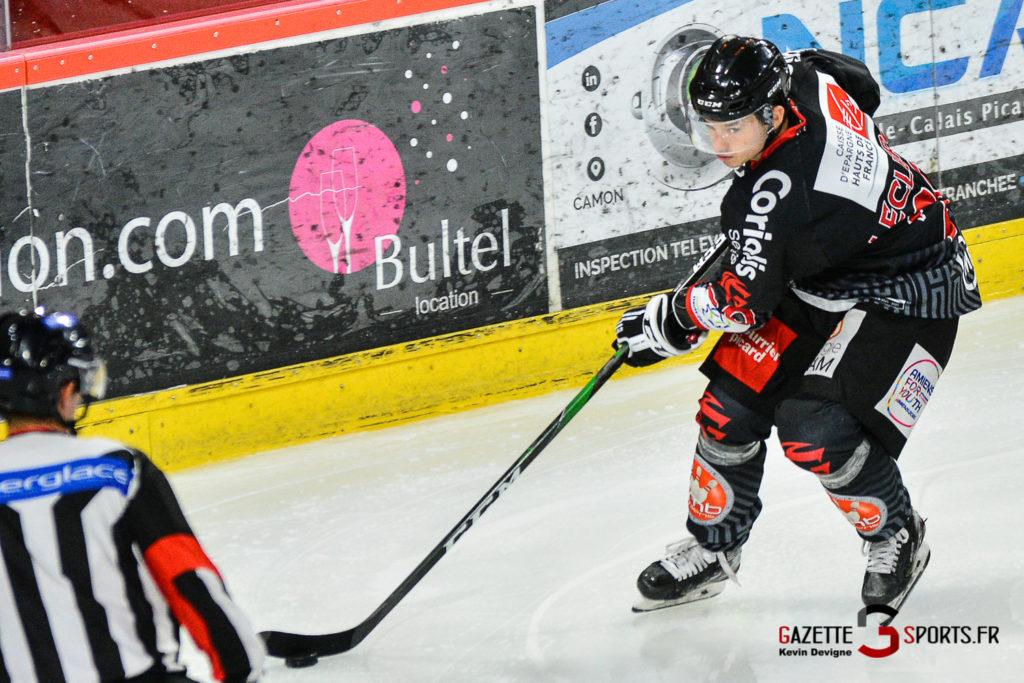 Hockey Sur Glace Amiens Vs Cergy J1 Kevin Devigne Gazettesports 100