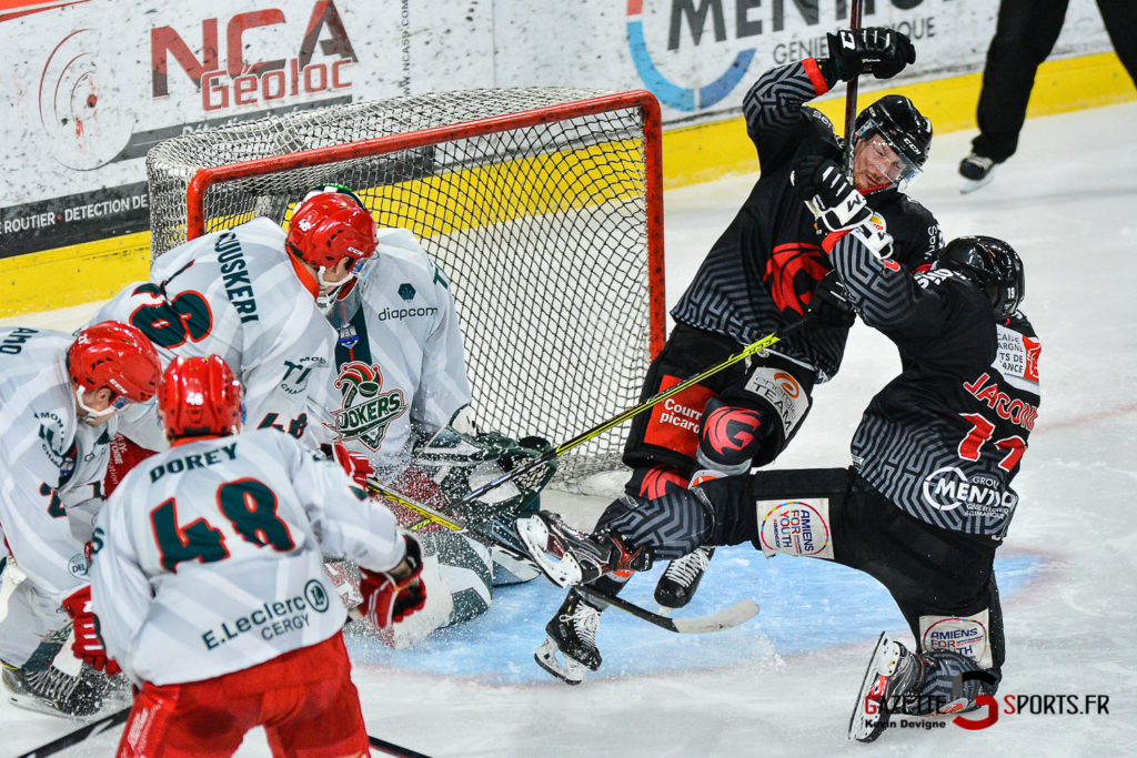 Hockey Sur Glace Amiens Vs Cergy J1 Kevin Devigne Gazettesports 103
