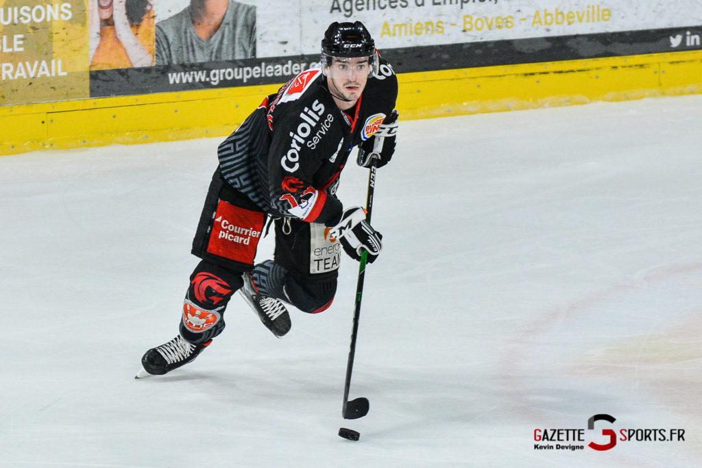 Hockey Sur Glace Amiens Vs Cergy J1 Kevin Devigne Gazettesports 118