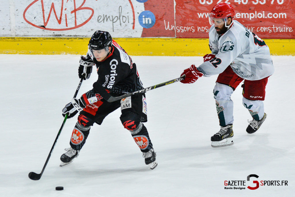 Hockey Sur Glace Amiens Vs Cergy J1 Kevin Devigne Gazettesports 124