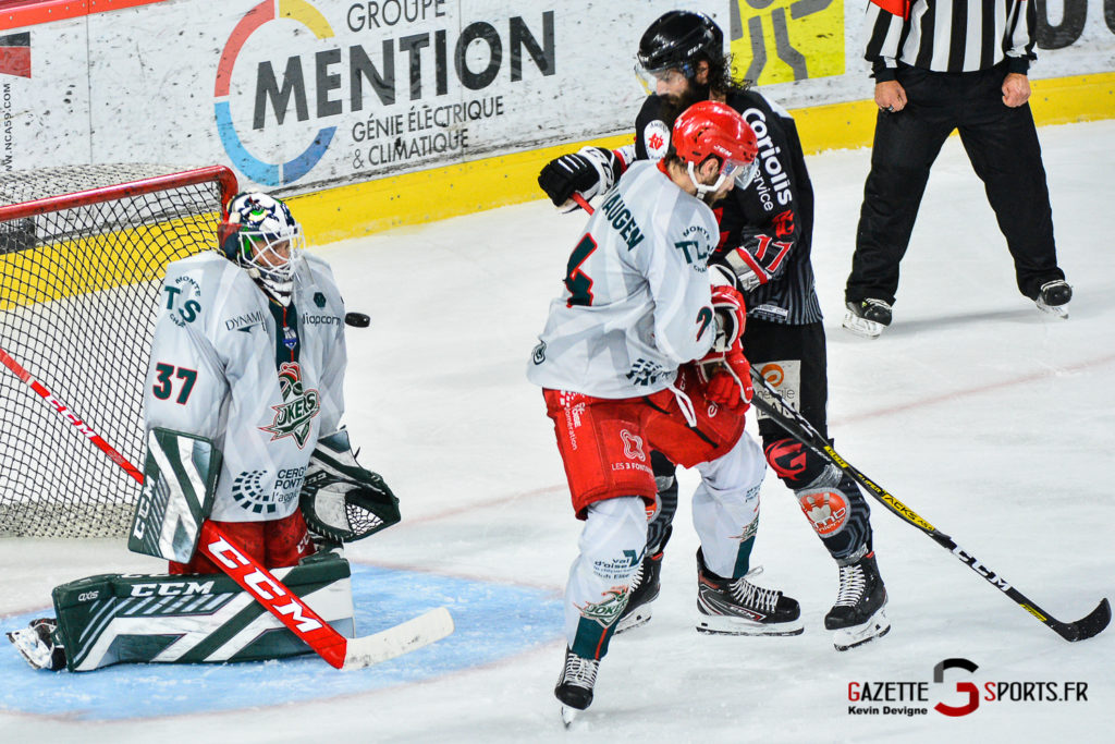 Hockey Sur Glace Amiens Vs Cergy J1 Kevin Devigne Gazettesports 127