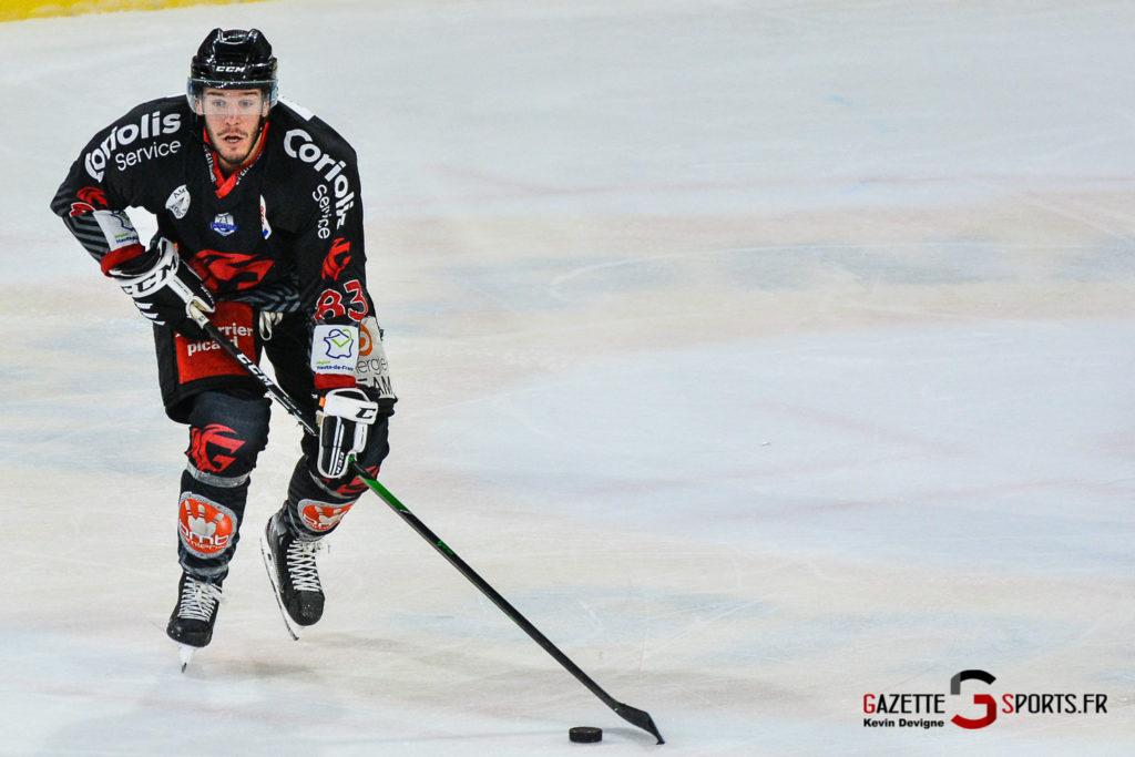 Hockey Sur Glace Amiens Vs Cergy J1 Kevin Devigne Gazettesports 131