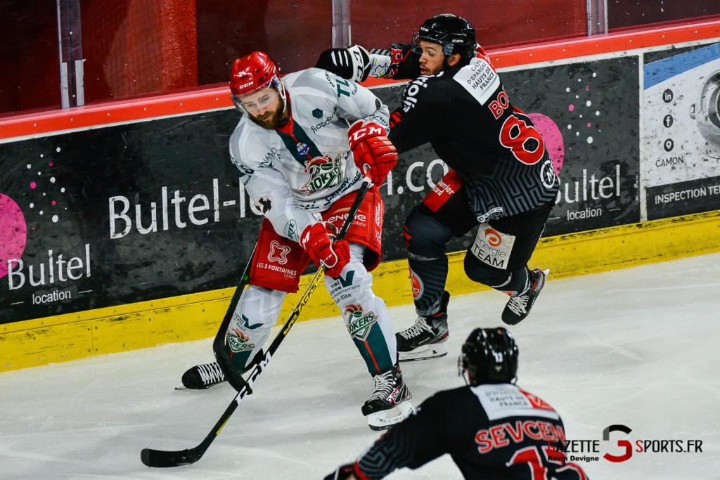 Hockey Sur Glace Amiens Vs Cergy J1 Kevin Devigne Gazettesports 16