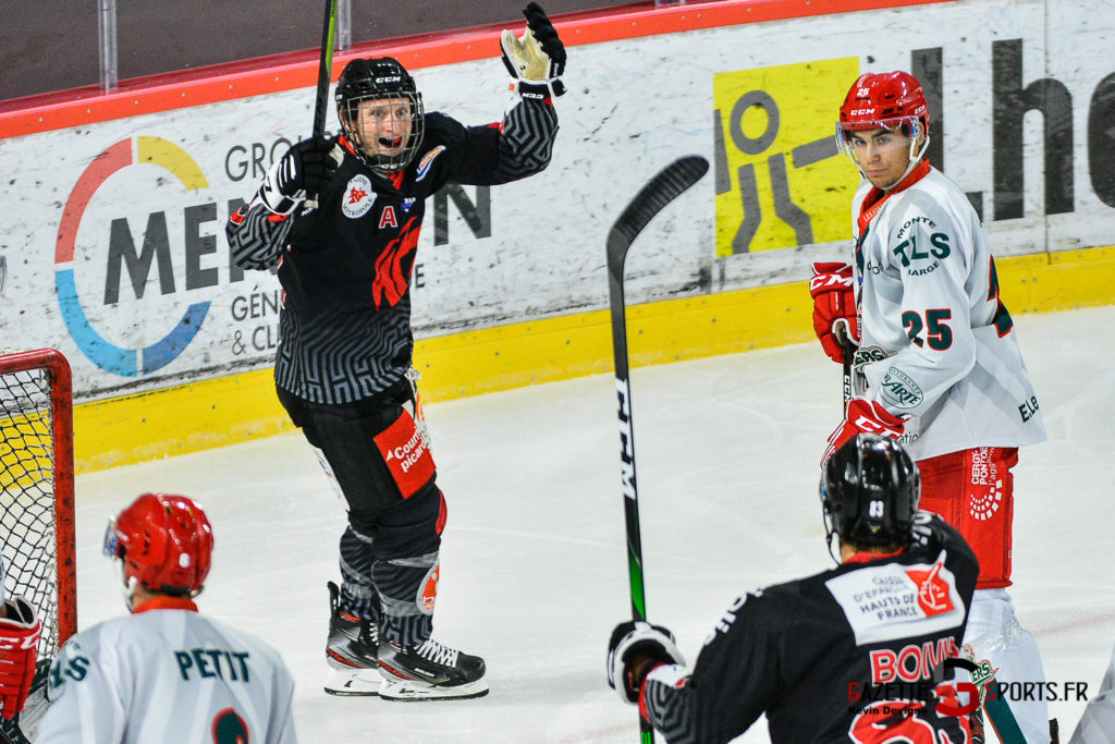 Hockey Sur Glace Amiens Vs Cergy J1 Kevin Devigne Gazettesports 24