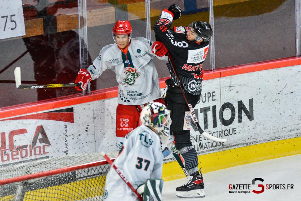 Hockey Sur Glace Amiens Vs Cergy J1 Kevin Devigne Gazettesports 33