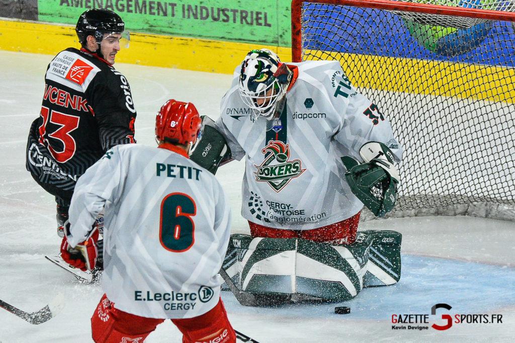 Hockey Sur Glace Amiens Vs Cergy J1 Kevin Devigne Gazettesports 59