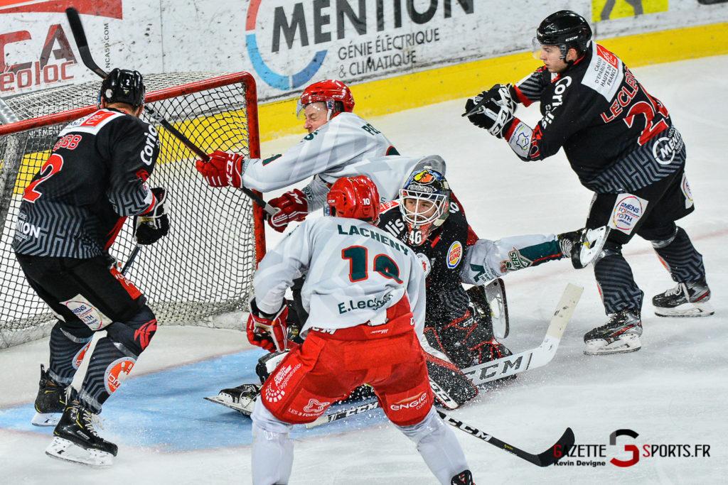 Hockey Sur Glace Amiens Vs Cergy J1 Kevin Devigne Gazettesports 75