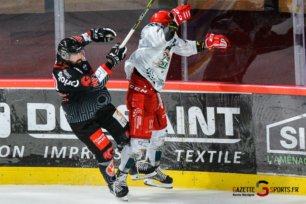 Hockey Sur Glace Amiens Vs Cergy J1 Kevin Devigne Gazettesports 76