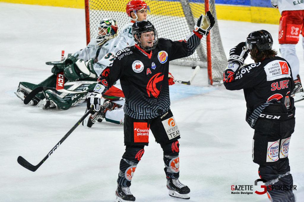Hockey Sur Glace Amiens Vs Cergy J1 Kevin Devigne Gazettesports 88